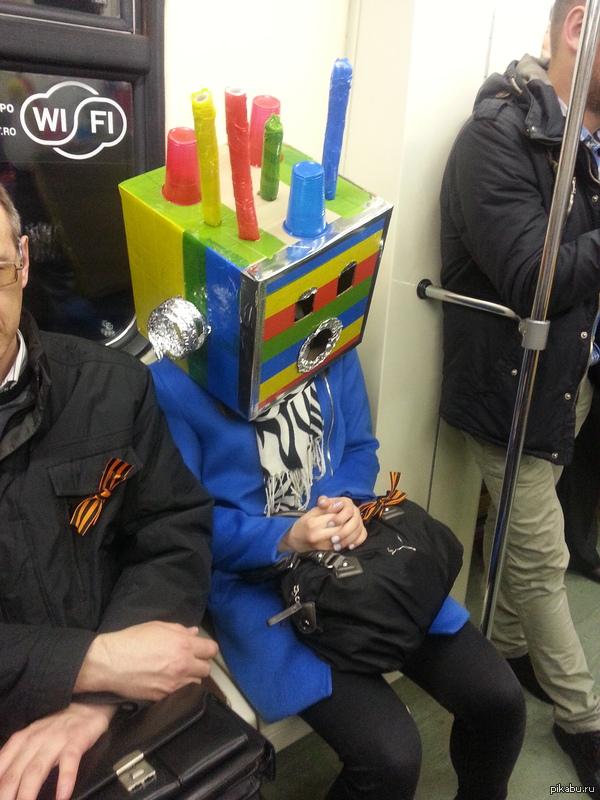 Сегодня в метро Своя атмосфера