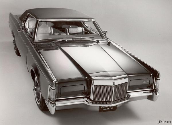 Красавец Lincoln Continental Mark 3