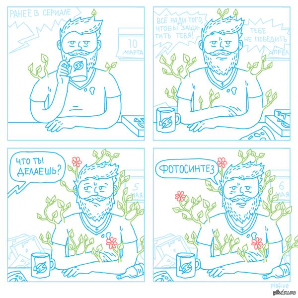 Фотосинтез Весна - время расцветать