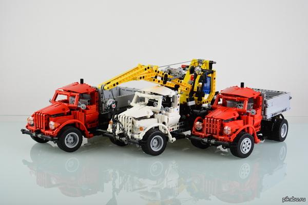 ГАЗ 51 из LEGO кастомные модели из лего.