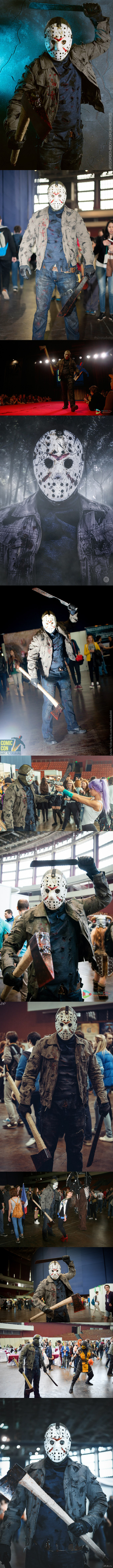 Как я Джейсоном на Comic Con Saint Petersburg сходил. Спасибо фотографам и посетителям за то, что не обделили меня вниманием.