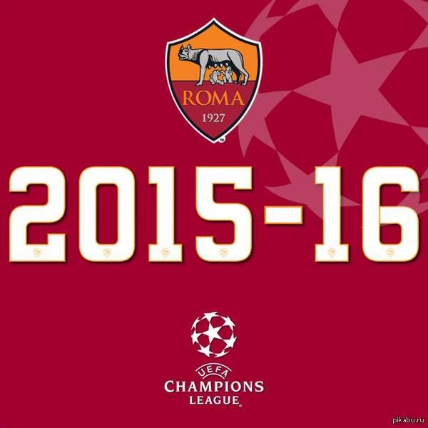 Радости пост! Рома заняла 2ое место и вышла в ЛЧ! После такого сложного сезона не верится, что заняли вторую строчку! Roma si amo noi!