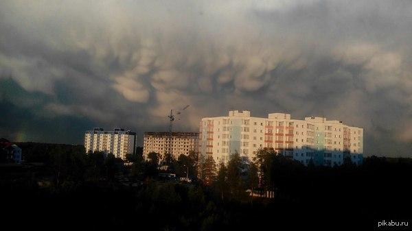 Облака На Севере тоже происходит что-нибудь интересное