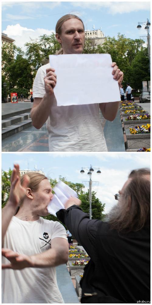 """Зло выпущено на свободу. Вы знаете что делать. <a href=""""http://pikabu.ru/story/t__tolerantnost_3379450"""">http://pikabu.ru/story/_3379450</a>"""