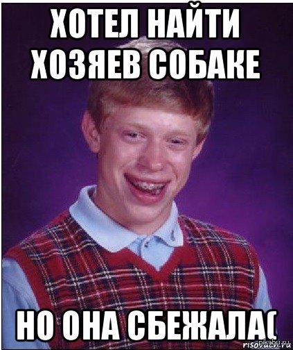 "Девушка хотела пристроить бездомную собаку, но она сбежала. Ссылка на пост <a href=""http://pikabu.ru/story/bolshe_ne_aktualno_sobaka_ubezhala_kudato__3400209"">http://pikabu.ru/story/_3400209</a>"