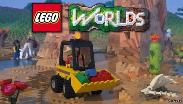 LEGO WORLDS LEGO сделала свою версию Minecraft, в которой весь мир будет состоять из кубиков любимого конструктора.Именно подобную игру ждали фанаты первой игры лего на pc!