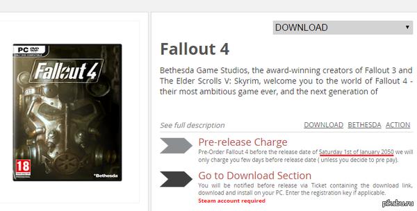 Стала известна дата выхода Fallout 4 Дождусь ли?