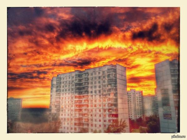 К закатам Москва, Тропарёво. Nexus 5