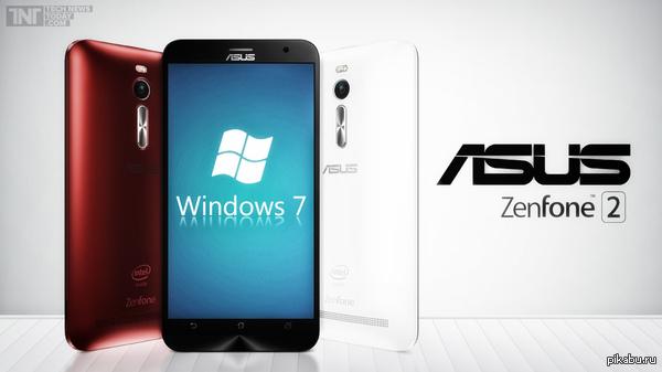 Десктопная Windows 7 на смартфоне :D За пруфом в комменты. Какой-то чувак с форума XDA developers умудрился установить на Asus Zenfone 2 полноценную Windows 7 :D Инфа, пруф, видео, и инструкция в комментариях.
