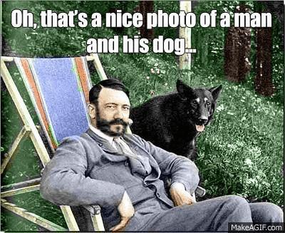 Просто милое фото человека и его собаки. Не угадал...