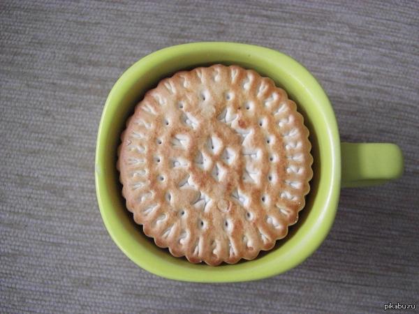 Радость перфекциониста То чувство, когда печеньки уложились в чашке ровно