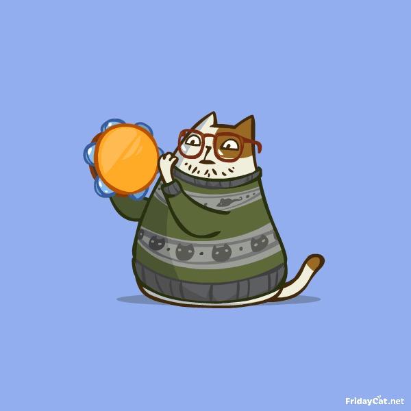 Пятничный Котик №14 С Днем Сисадмина! Вообще он уже давно прошёл и сегодня не пятница, но кого это волнует?