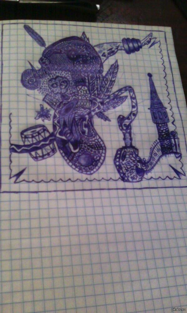 Ручка, блокнот и немного фантазии