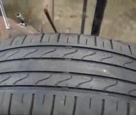 Как из старых шин создают вид новых