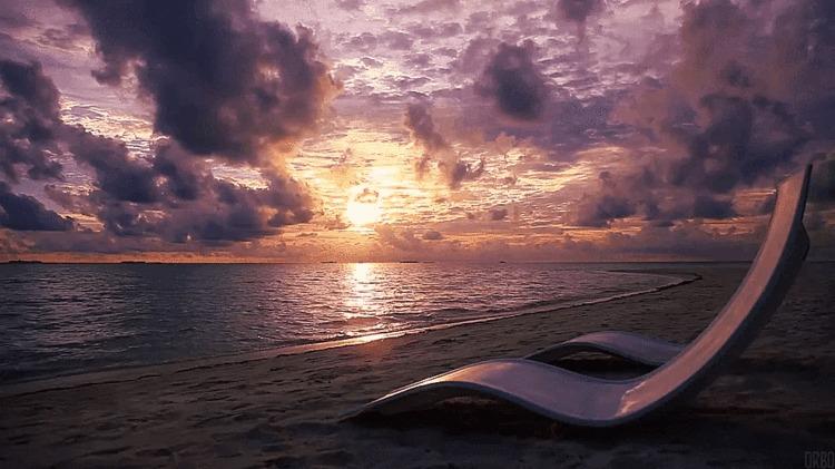 Вечер на Мальдивах