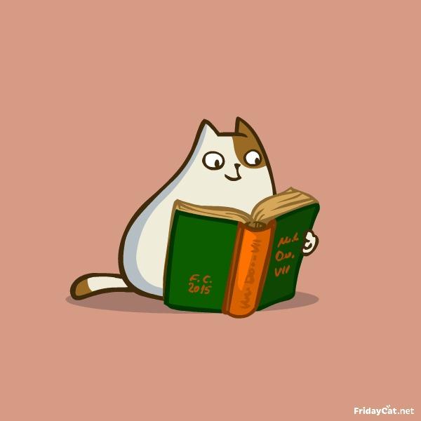 Пятничный Котик №19 Празднуем прошедший День знаний!