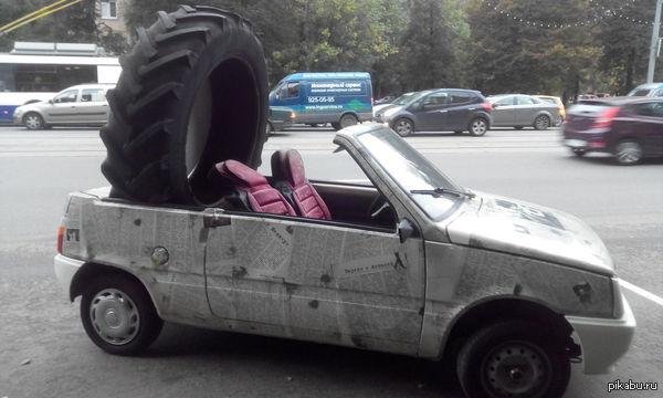 Ока-кабриолет Москва,ул.Свободы