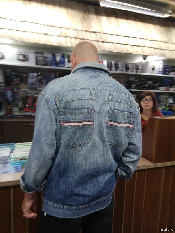 Куртка рукожопа фотографировал на ходу на Flex2