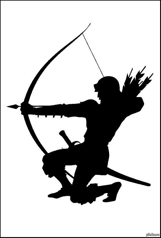 эмблема на картинке с луком