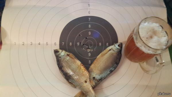 Воблу стрелял уже не я Рыба становится вкуснее, если есть на собственноручно отстрелянной мишени. Спортивный вариант СВД, Рекорд-2, 7.62х54Н.