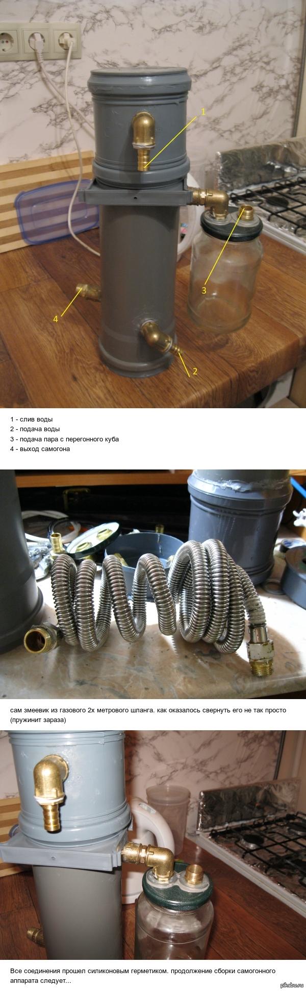 Самогонный аппарат диаметр трубки змеевика кто создал самогонный аппарат википедия