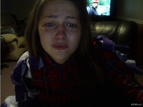 фото которая плачет девушки
