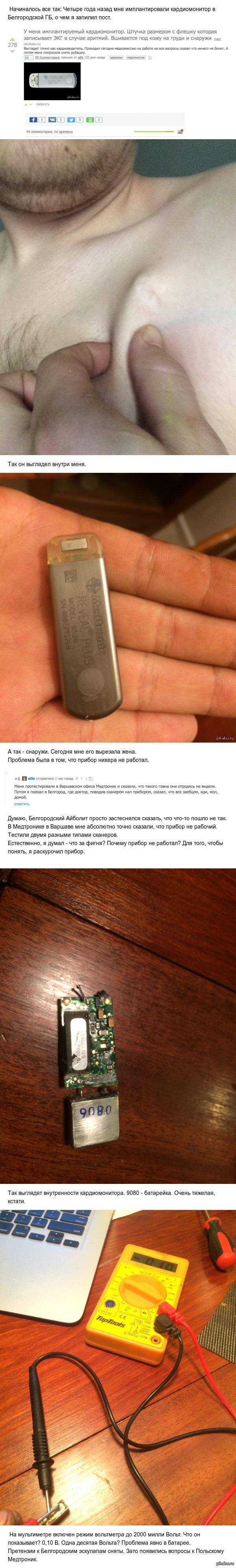 Пост реабилитации российской медицины. Кардиомонитор.