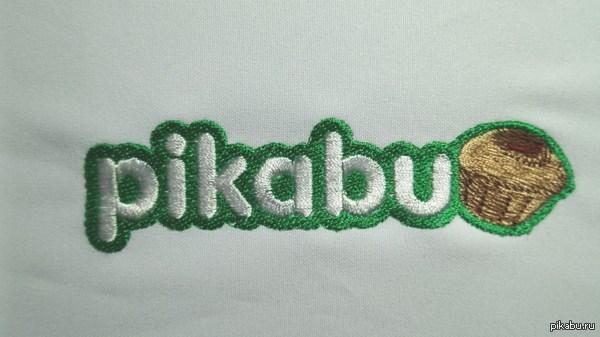 Вышитый логотип сайта