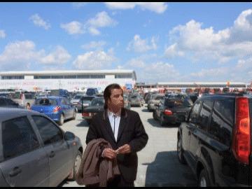 Когда не можешь найти свою машину на парковке