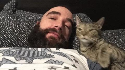 Когда ты чертовски брутален! ... Но твой кот считает иначе!