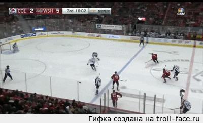 Веселый гол из НХЛ Курьезный гол защитника Вашингтона Д. Орлова