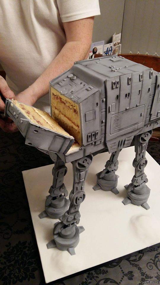 Вы никогда бы не поверили, что это - торт!