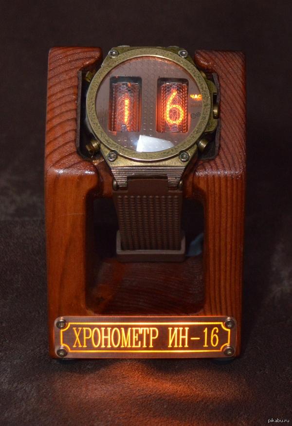 Газоразрядные часы своими руками