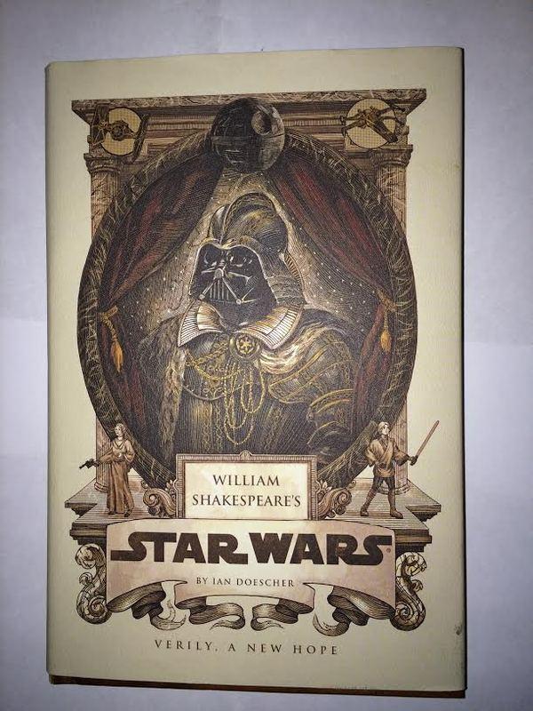 В тему постов о раритетных книг по миру ЗВ Star wars, Книги, Уильям Шекспир, Длиннопост