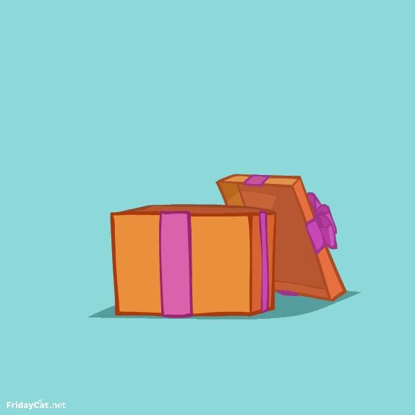 Новокот — Пятничный Котик №36 Кот, Пятничный котик, Fridaycat, Новый Год, Новокот, Подарок, 2016, Гифка