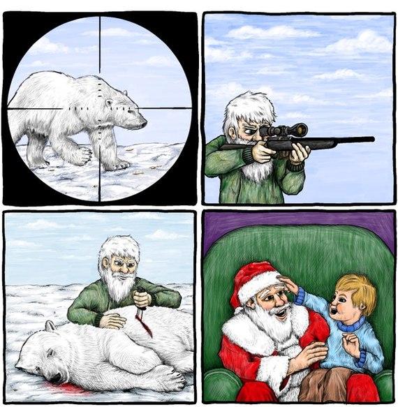 Дед Мороз идёт на любые жертвы