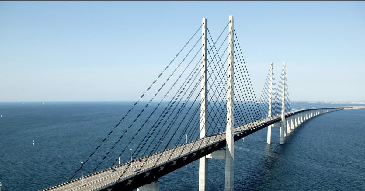 обоев черно фото открытия моста швеция дания отметили, что