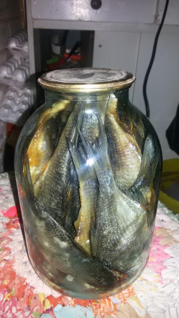 Рыбные консервы... Вобла, Консервы, Заготовки