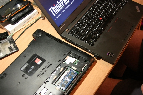 Ремонт ноутбука ремонт электроники, SSD, rg-45, usb, ты пытался, длиннопост