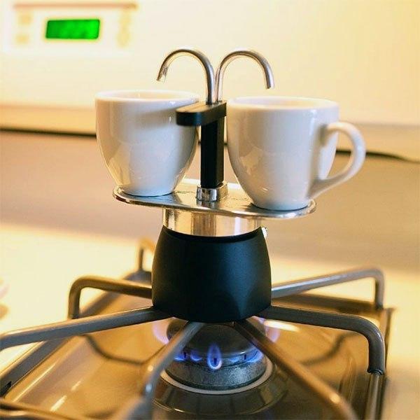 Любителям кофе посвящается - кофеварка гейзер на две кружки