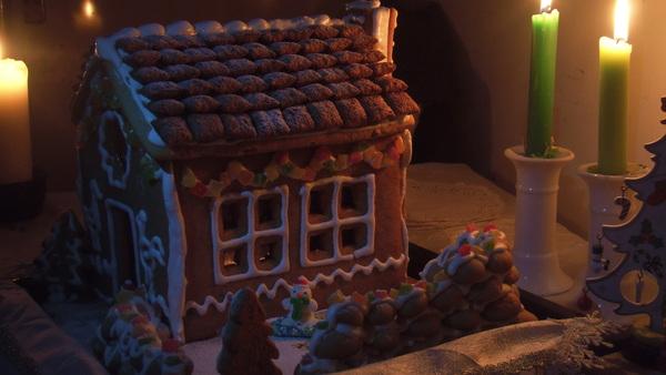 На волне пряничных домиков Пряничный дом, еда, лига криворукости, поделки