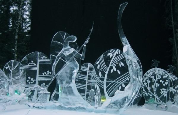 Разный лёд. Лед, Ледяная скульптура, Фото, Длиннопост