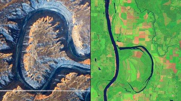 Фото из космоса: Природный алфавит Космос, Земля, NASA, Фото, Алфавит, Длиннопост