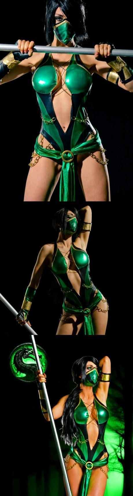 Косплей Jade Игры, Mortal kombat, Jade, Косплей, Длиннопост