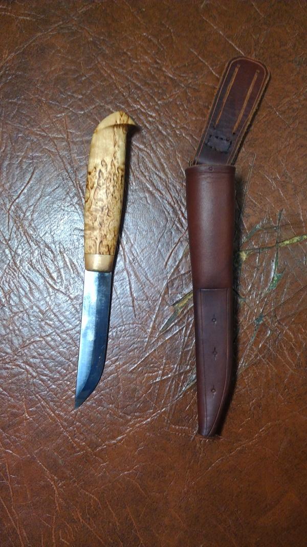 Финка моего изготовления Финка, Нож, Финский нож, Ручная работа