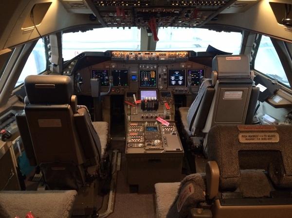Boeing 747-8F Boeing-747, Самолет, Авиация, Чтовнутри?, Длиннопост