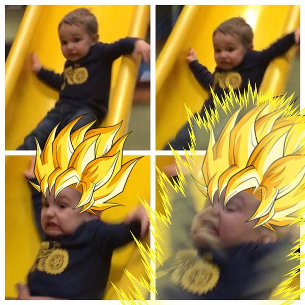 Супер Бутуз Горка, Дети, Dragon Ball, Super Sayan, Фотошоп мастер, Гений, Скромность