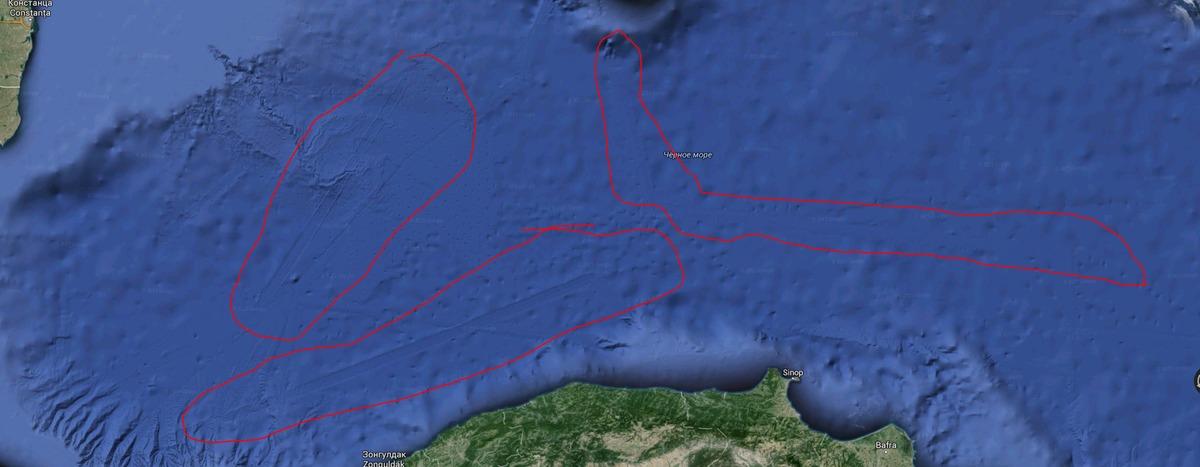 Кому принадлежат абсолютно ровные следы/полосы на дне моря? Если наша цивилизация не причастна, тогда кто их сделал?
