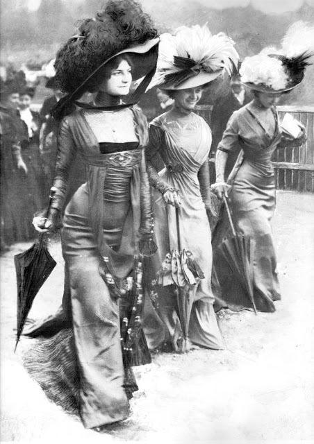 Женская мода эпохи короля Эдуарда. Англия начало 20 века. Англия, Эдвардианская эпоха, Мода, Длиннопост
