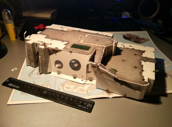 Модель замка Нойшванштайн Длиннопост, Умная Бумага, Нойшванштайн, Фото, Из бумаги